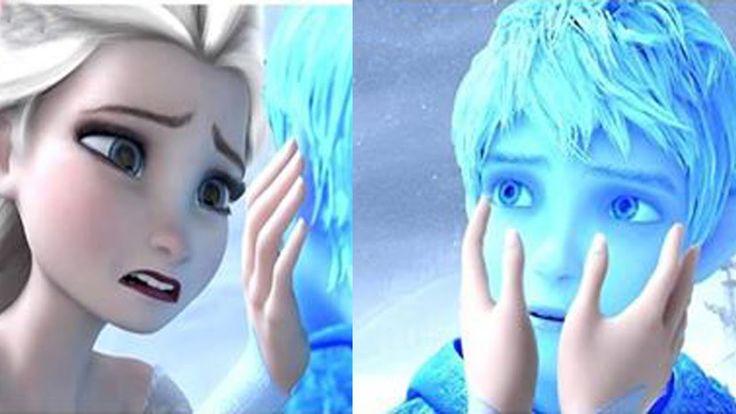 """Эльза и Джек Фрост. Любовь. Эльза """"Холодное сердце"""" и Джек Фрост."""