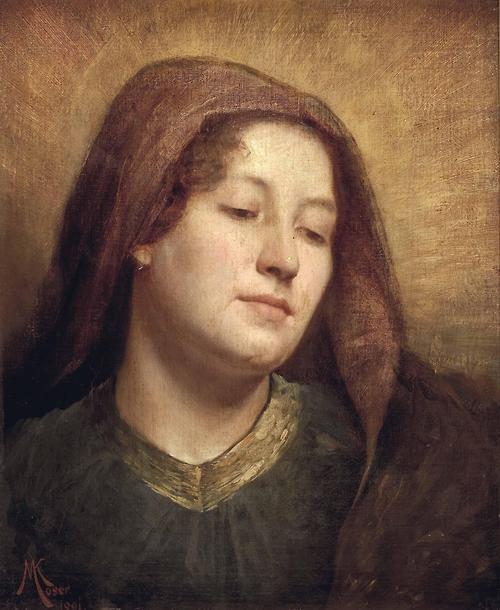 Madonna (1891) by Koloman Moser (1868–1918).