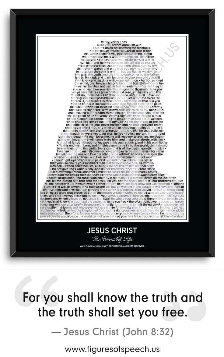 Figures Of Speech brings the words of Jesus to life thru our unique and powerful combination of his image and quotations. Jesus Christ's Image composed of his most famous and inspirational quotes, quotations, sayings and words. Posters, Mugs, T-Shirts and More! Please visit: www.figuresofspeech.us #jesus #christian #quotes #wordofgod #quotations #figuresofspeech