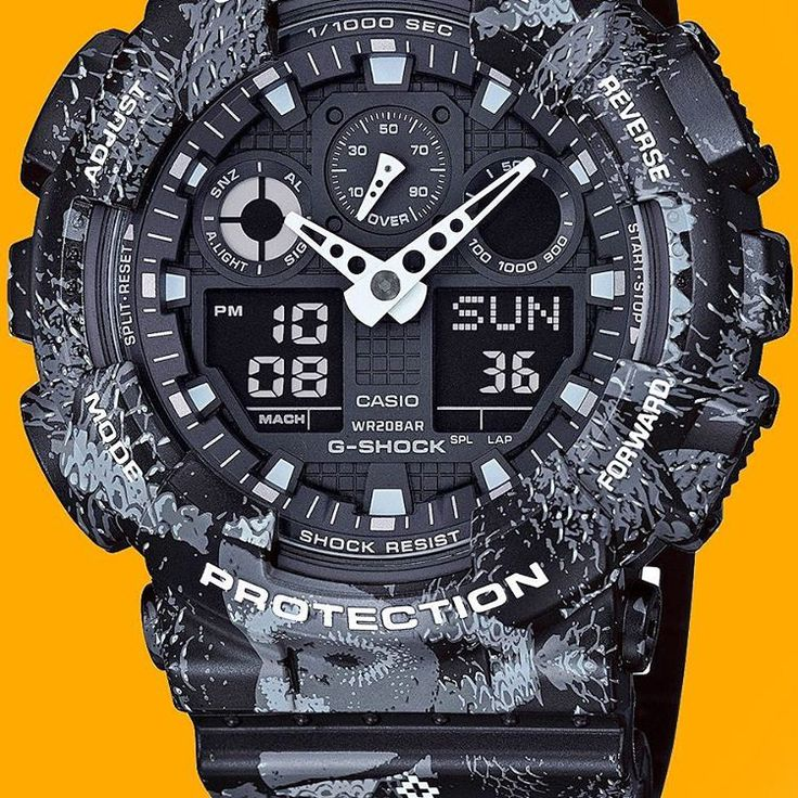 17 best images about g shock watches g shock new g shock collaborations futura marcelo burlon at watches com you
