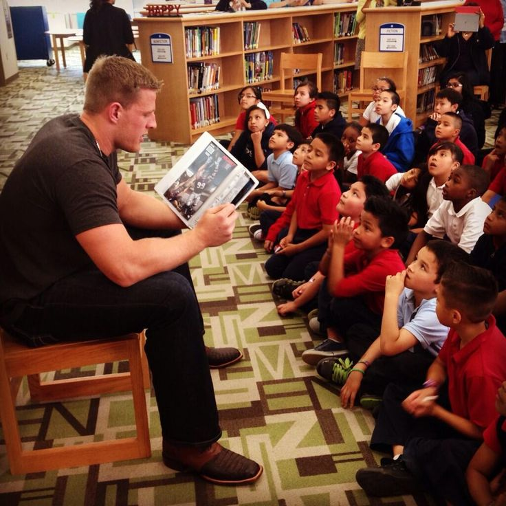 "It finally happened! ""@HoustonISD: Who has two big arms and loves reading to @Neff_ES students? This guy! @ JJWatt pic.twitter.com/CjF3SnKhi2"""