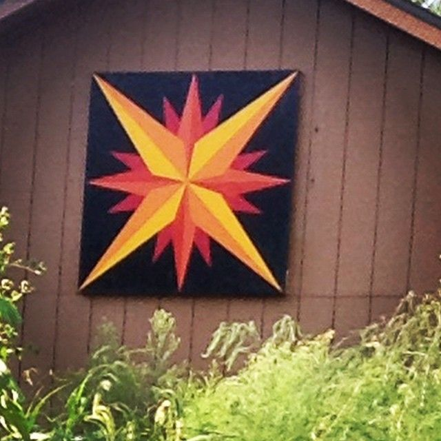 Yeah!!! I have a barn quilt even though we don't ha be a barn - it is on our…
