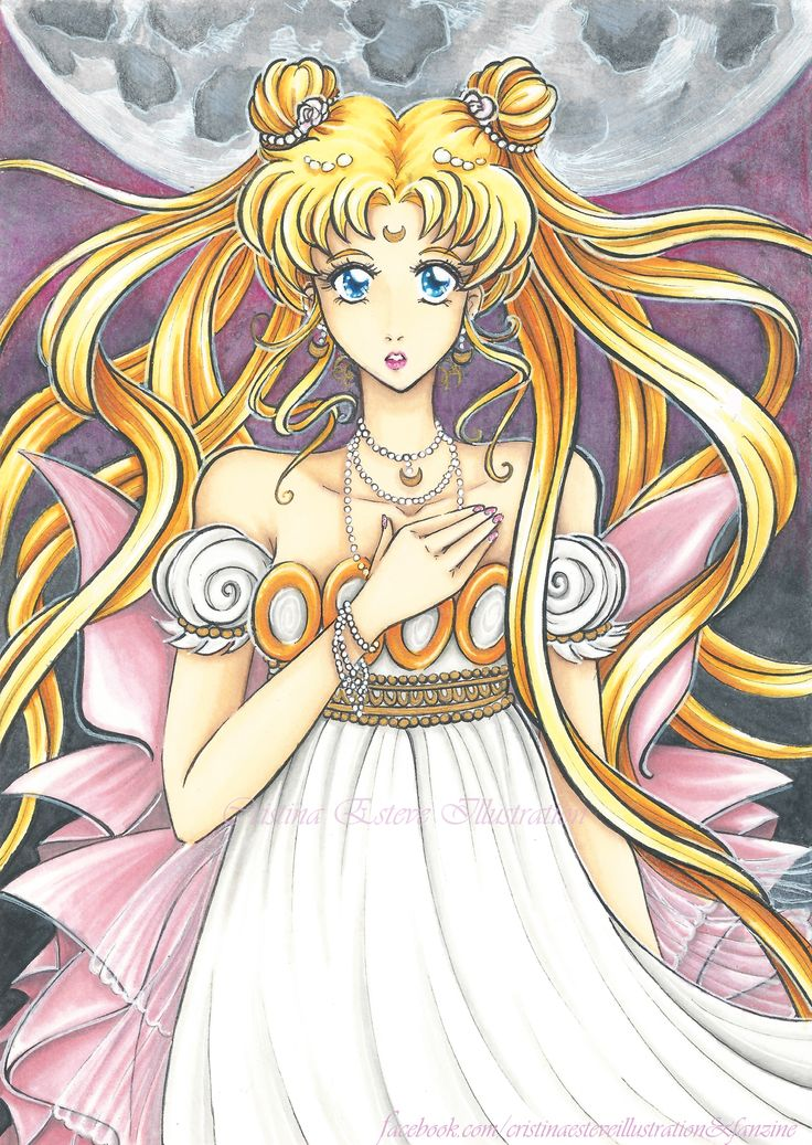 Serenity - fanart Sailor Moon