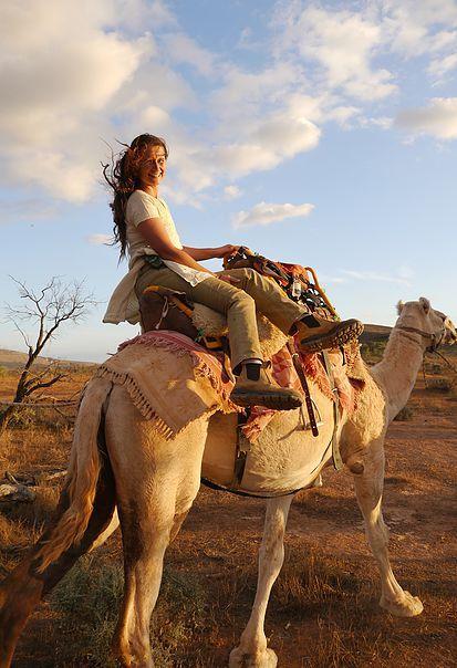Karen Ellis of Camel Treks Australia - http://www.cameltreksaustralia.com.au/ - Make your booking with us today!