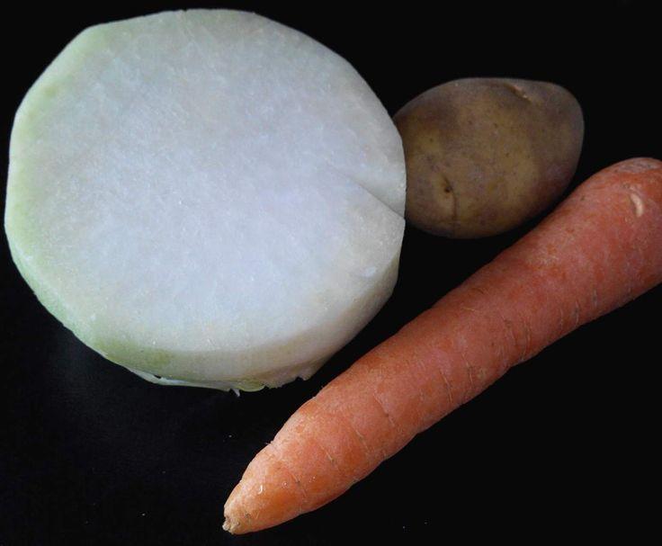 Rezept Kohlrabi-Möhren-Kartoffelbrei ab 5. Monat von schtephiew - Rezept der Kategorie Baby-Beikost/Breie