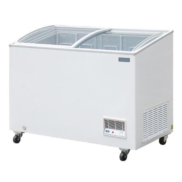 Arcón congelador con puertas correderas de cristal 270L. Polar