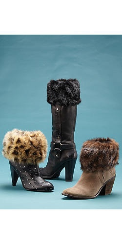 Fabulous Faux Fur Boot-Toppers | Fabulous-Furs $39.00 3 piece set