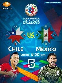 Resultado Chile vs México en Vivo - Copa América 2015 | FutAdiccion TV - Partidos de hoy fútbol en Vivo