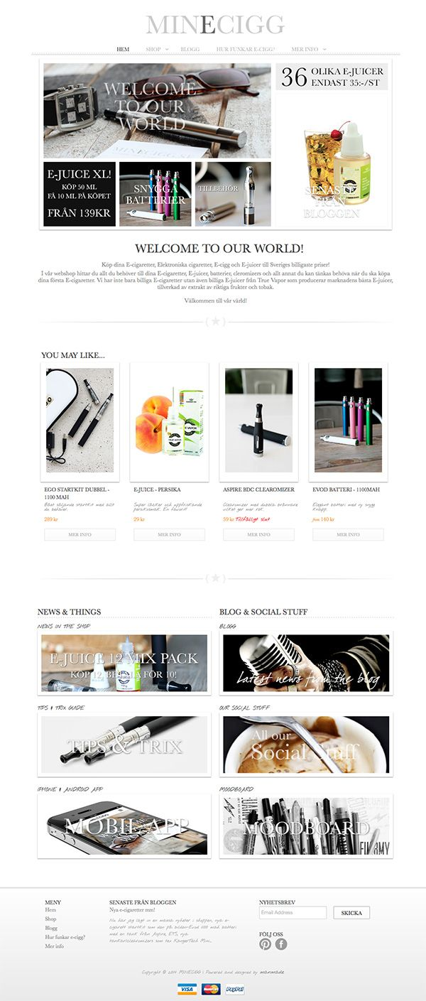 #Minimal designed webshop for the #shopify.com webshop platform. Do you want a #minimal designed #webshop? Read more and contact info at http://manmade-shop.myshopify.com/blogs/news, can be transformed to ordinary webpages as well.