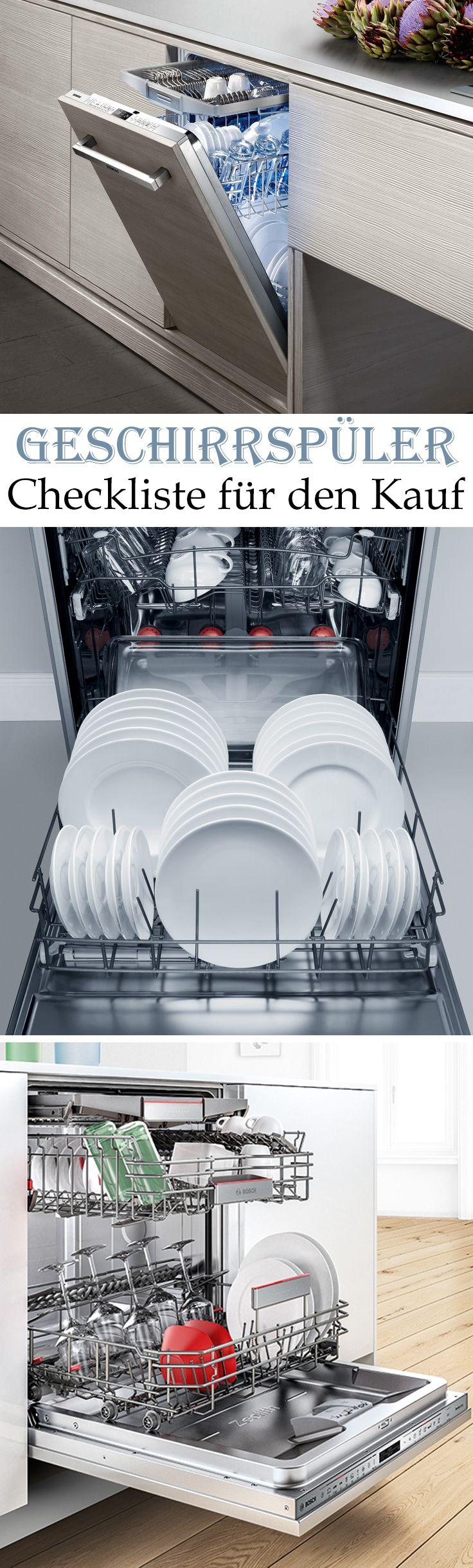 Bei Geschirrspülern geht es nicht nur um die Größe. Auch der Strom- und Wasserverbrauch und die Lautstärke der Spülmaschine sind wichtig beim Kauf. Wir verraten, worauf Sie beim Geschirrspüler kaufen achten müssen.