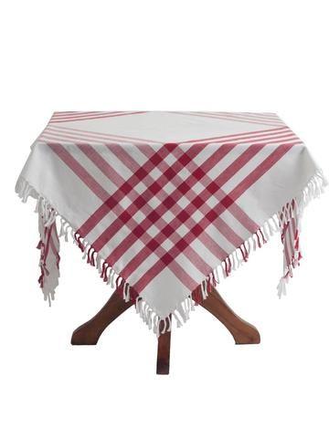 Happy Picnic Tablecloth by April Cornell   Retro Barn Country Linens