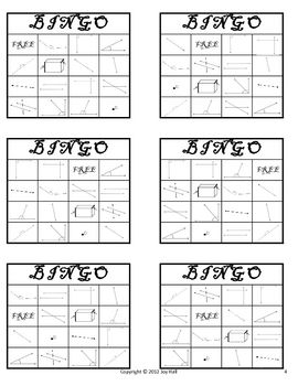 This FREE Geometry BINGO game set has a pirate theme to capture students' in… – Stephanie Cifuentes
