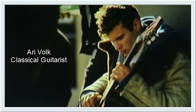 Canadian Classical Guitarist Ari Volk