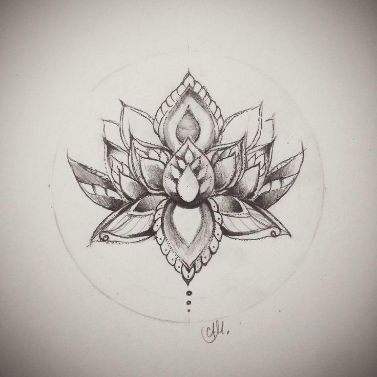 lotus mandala line work - Google Search