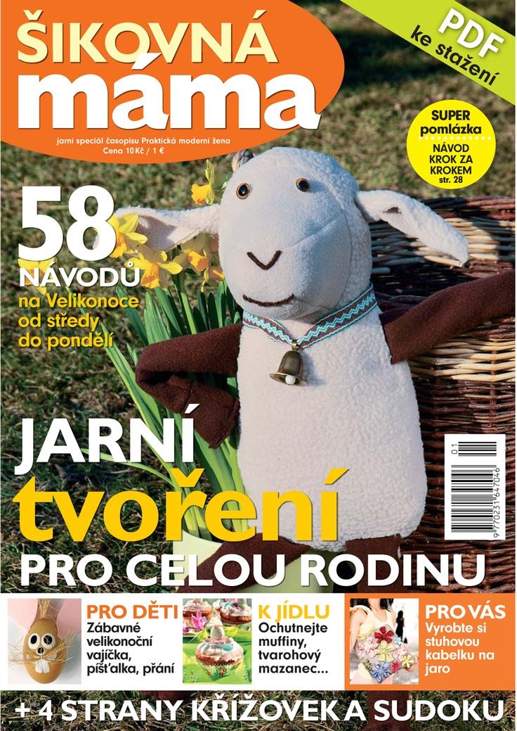 Šikovná máma   Handy Mom    K dispozici ke stažení v PDF na www.praktickazena.cz