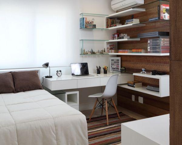 Quarto de hóspedes e escritório em casa