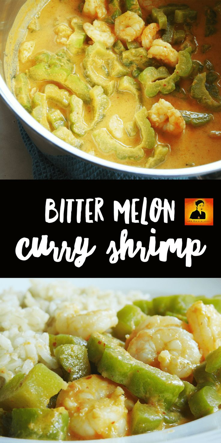 Bitter Melon is one of a super food. This is a curry ricepe with only 7 ingredients and about 30 minutes preparing and cooking.