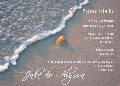 17 Best images about ideas wed invitations – Make Your Own Beach Wedding Invitations