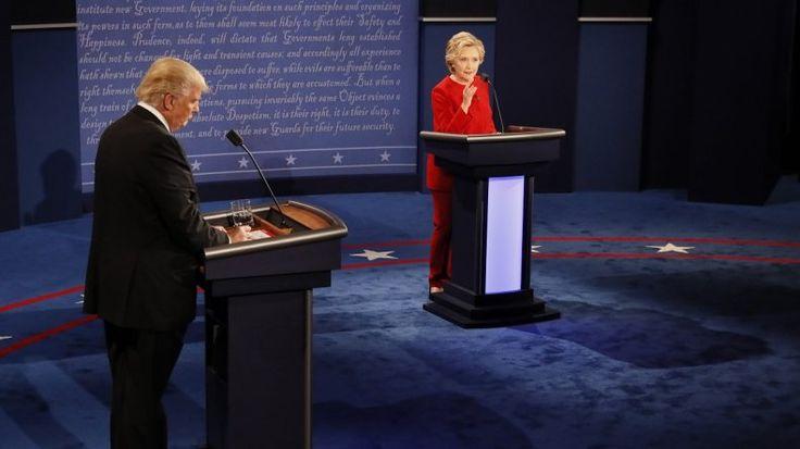 El debate presidencial produjo olas en el sur de Florida – The Bosch's Blog