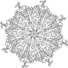 Picture of Bodhi Tree coloring page