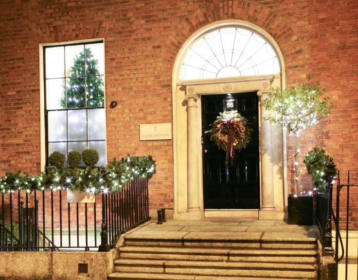 Christmas 2012 with Louise Kennedy at No. 56 Merrion Square