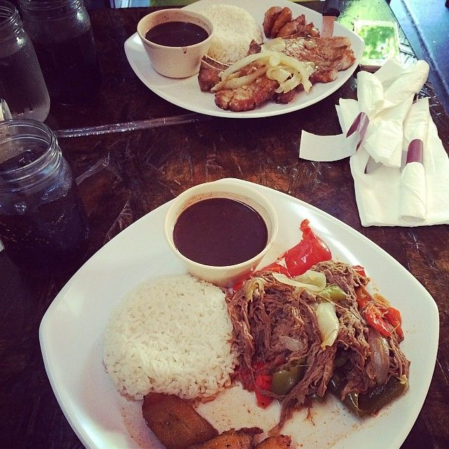 Check Out  90 Miles Cuban Cafe in Chicago, IL as seen on Diners, Drive-ins and Dives and featured on TVFoodMaps. Known for the authentic Cuban joint platin' up family recipes like the fricase de pollo