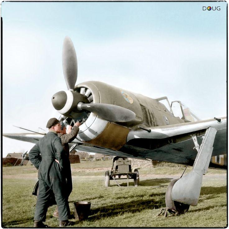 """Focke-Wulf Fw 190 A3 of 1./JG51 (I. Gruppe / Jagdgeschwader 51) """"Mölders"""" - Jesau (Jěžow), August/September 1942"""