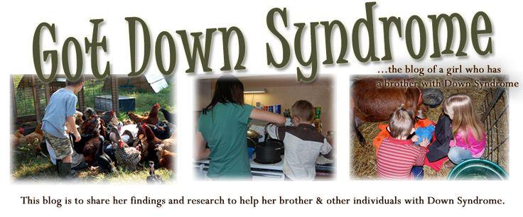 Got Down Syndrome's Blog