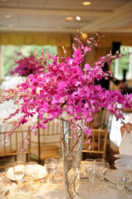 Magenta+Wedding+Centerpieces | wedding centerpieces