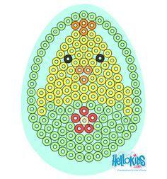 Easter Egg Perler Pattern