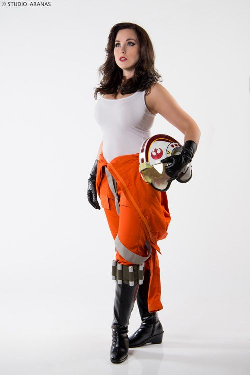 Rebel Pilot Pinup Cosplay http://geekxgirls.com/article.php?ID=5536