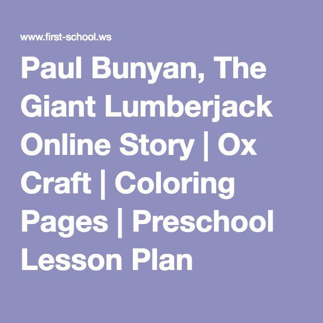 17 Best ideas about Paul Bunyan