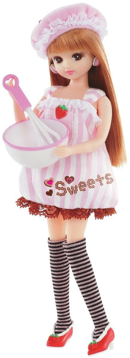 """Licca Chan """"Sweets"""" Doll: Toys & Games"""