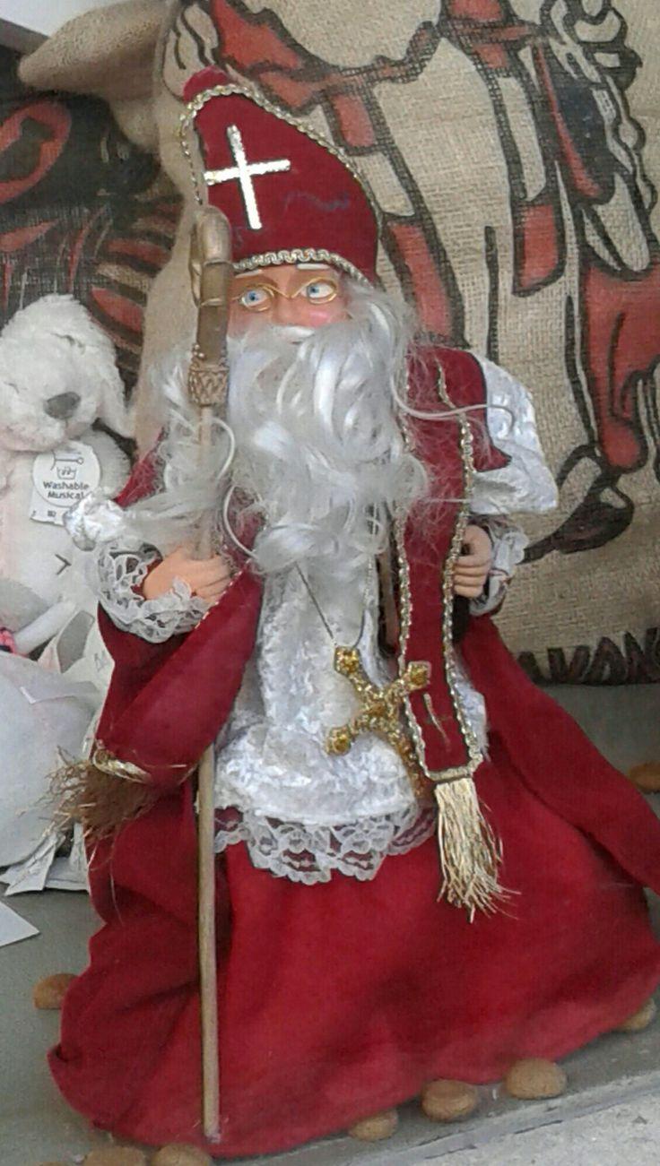 Winkel etalage Sinterklaas. (Foto by Sheila)