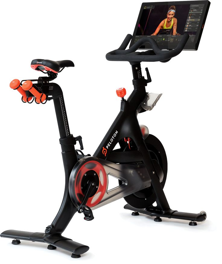 Peloton Cycle ® | The Only Indoor Exercise Bike With Live Streaming Classes  Just ordered this and can't wait for it to arrive!