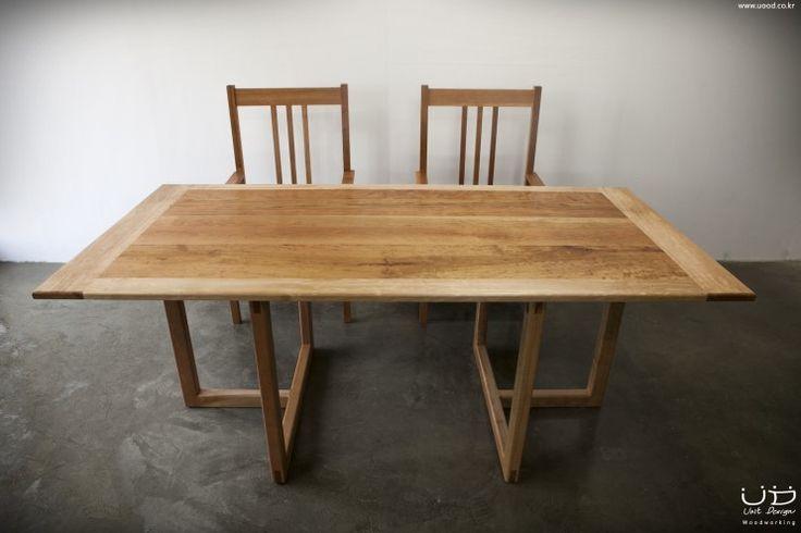 dining table for 6 people  체리로 만든 6인용 다이닝 테이블 디자인