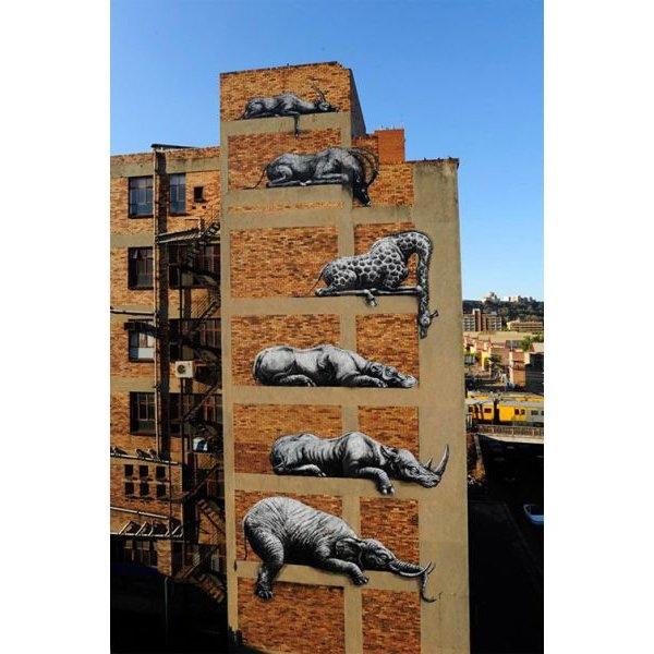 Außenfassade, Grafiti