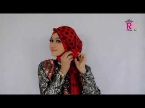 Tutorial Hijab Pashmina Long Simple Untuk Pesta. Tutorial Hijab Modern 2013