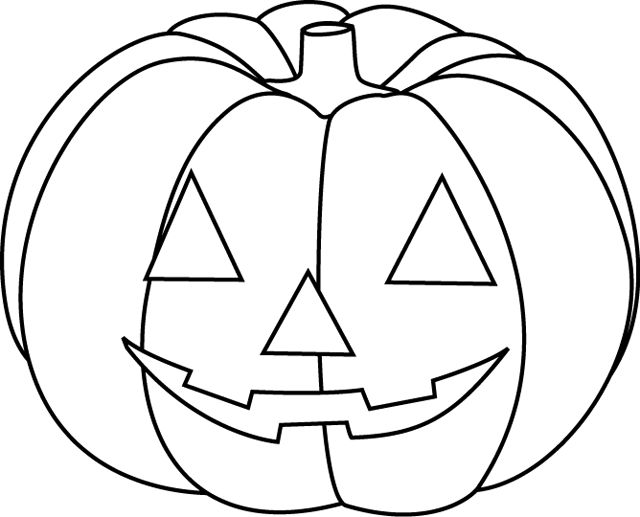 68 best images about coloriage enfants on pinterest - Tete de citrouille pour halloween ...