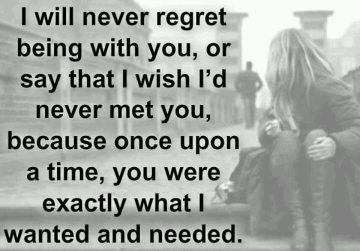 regretting a breakup