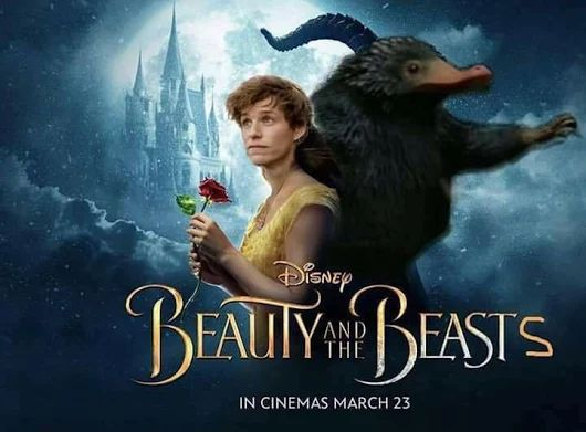 Or you could say...Newty and the Beast YES YES OMIGOD THIS IS PERFECT