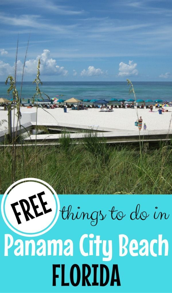 Panama City Beach, Florida is one of the country's most beautiful beaches. It's affordable too, but can be an even more budget-friendly family vacation if you do some of the many free things to do in Panama City Beach.