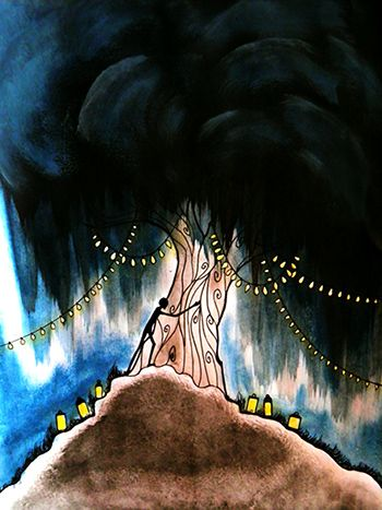 The Lonely Tree by Eszter Anna Vörös - www.facebook.com/eszterannaswonderland