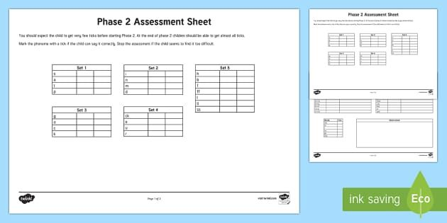 ASSESSMENT: This formal assessment of students learning is a good way to incorporate practicing oral language skills and letter sounds. When reading words, the teacher checks off if the student is understanding and correctly identifying the letters. This could be used as a check in to identify where the student needs improvement, or as a final assessment to understand what the student has cumulatively learned.