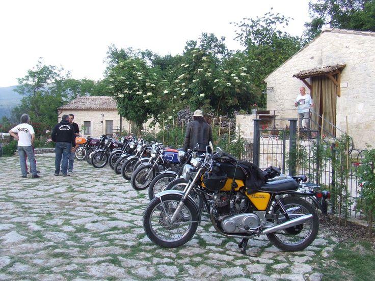 Maggio, ospiti gruppo motociclisti