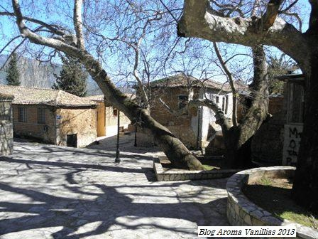 Amfissa - Greece, old town Charmaina