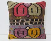 decorating living room 18x18 turkish pillow case outdoor pillow case kilim pillow gypsy pillow cover large pillow decorative pillows 26784