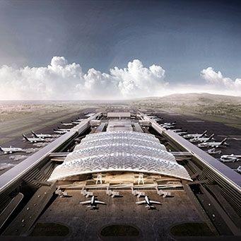 T3 at Taiwan Taoyuan International Airport - Rogers Stirk Harbour + Partners