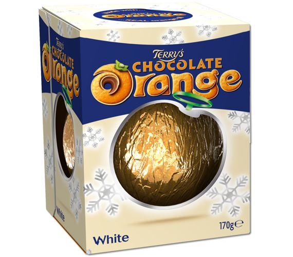 Terry's White #Chocolate orange! Yes please sir! #christmas