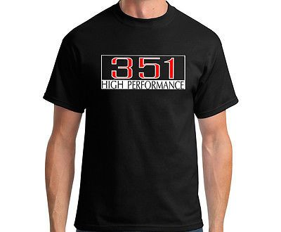 FORD 351 GT racing t shirts fpv fpr  HIGH PERFORMANCE TOPS GRAPHIC CLOTHING